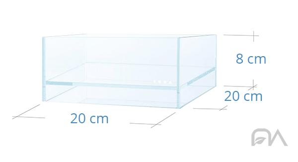 DOOA NEO GLASS AIR 20x20x8
