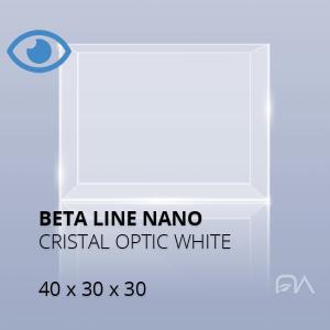 Acuario BETA LINE Cristal óptico de 40x30x30
