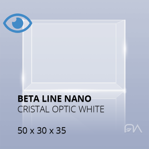 Acuario BETA LINE Cristal óptico de 50x30x35