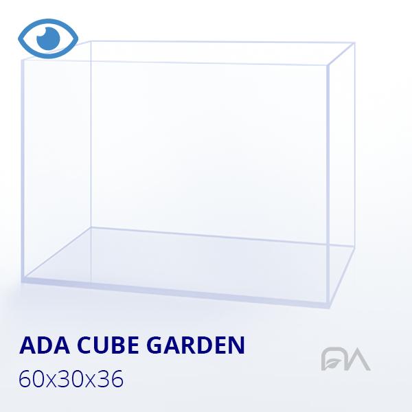Acuario ADA CUBE GARDEN 60