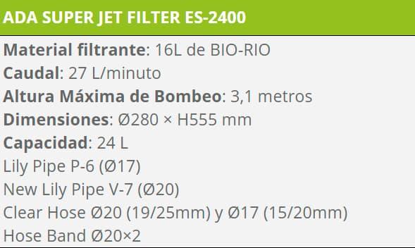 FILTRO ES 2400