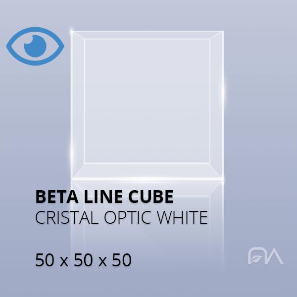 Acuario BETA LINE CUBE 50x50x50