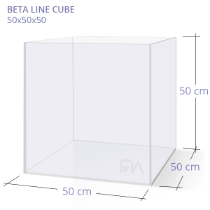 Acuario BETA LINE CUBE 50