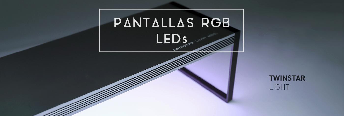 Pantallas RGB LEDs Twinstar Light