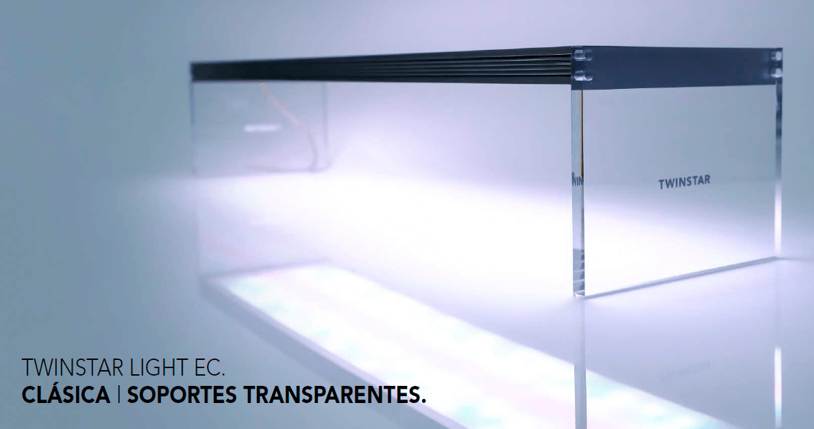 Twinstar Light EC Soportes transparentes