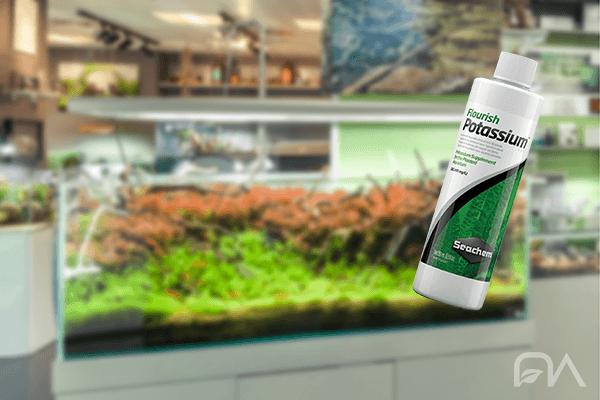Abono líquido Flourish Potassium de Seachem