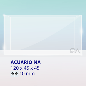 Acuario NA Cristal Normal 120x45x45