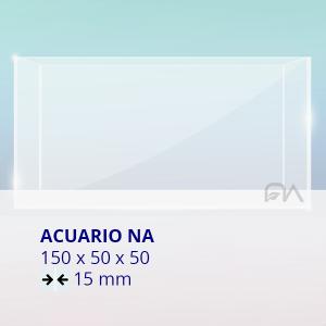 Acuario NA Cristal Normal 150x50x50