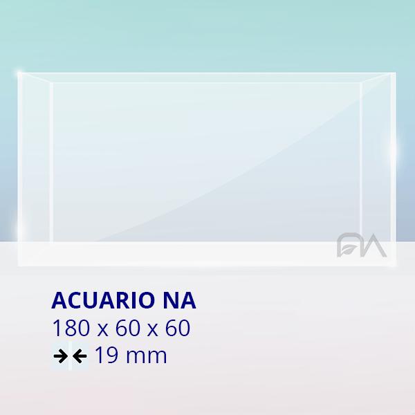 Acuario NA Cristal Normal 180x60x60