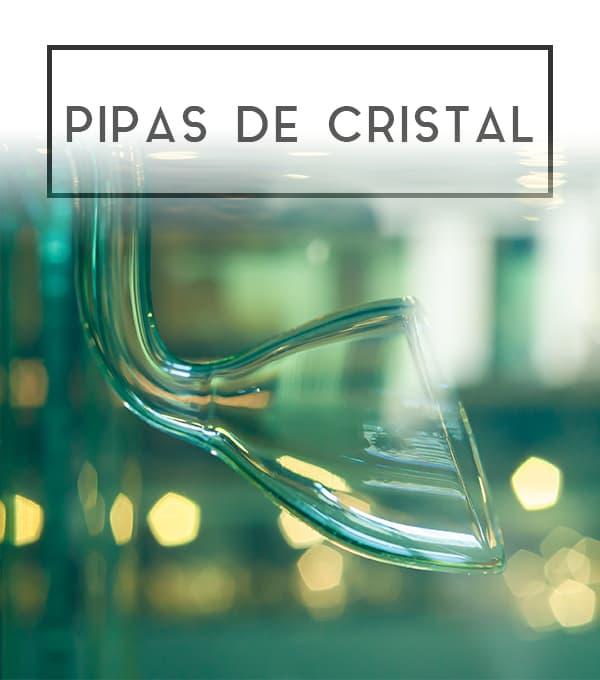 Pipas de cristal de la marca ADA