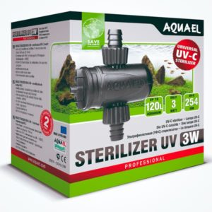 AQUAEL ESTERILIZER UV AS-3 W