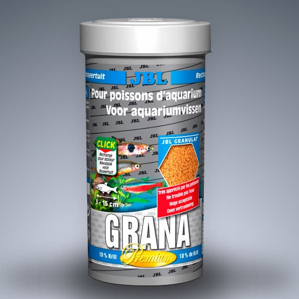 ALIMENTO PARA PECES JBL GRANA REFILL 250 ML