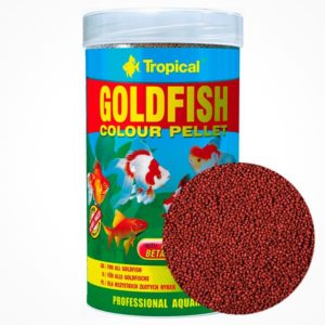TROPICAL GOLDFISH COLOUR PELLET