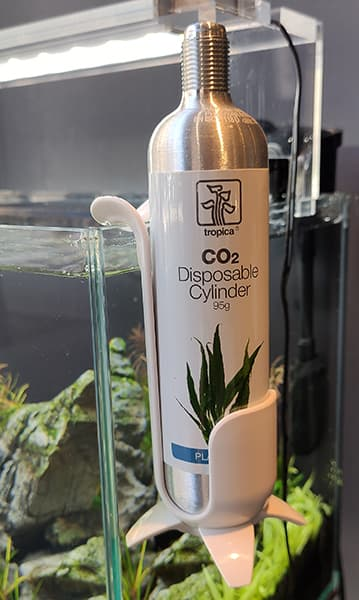 KIT CO2 SYSTEM NANO TROPICA: Botella