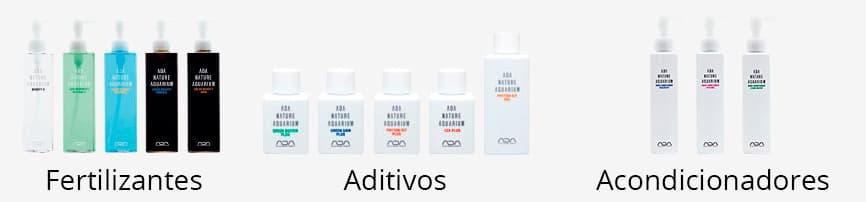 GAMA DE FERTILIZANTES ADITIVOS Y ACONDICIONADORES DE ADA