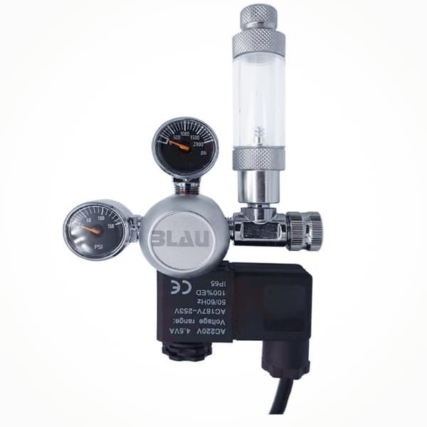 Comprar Manoreductor BLAU con válvula solenoide y contador de burbujas