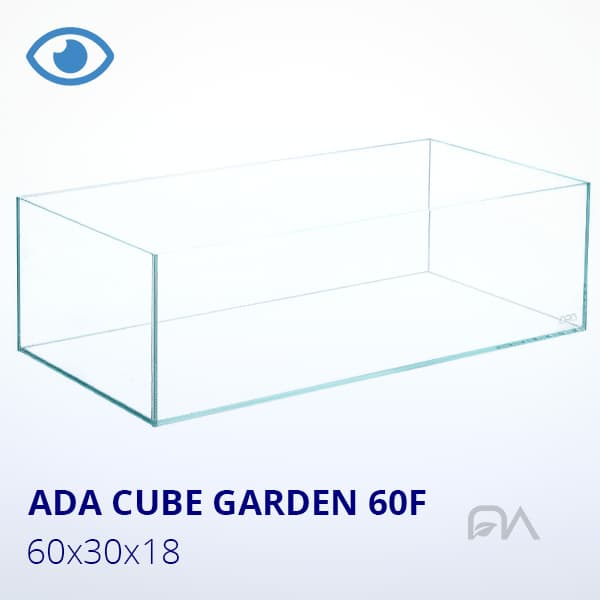 ACUARIO ADA CUBE GARDEN 60F DE 60X30X18