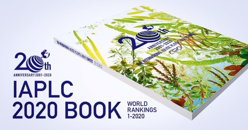 Libro oficial del concurso de aquascaping IAPLC año 2020. Este book lo puedes comprar online en NAscapers.