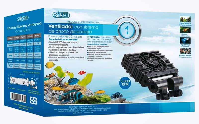 Comprar online ventilador silencioso para acuarios ista de ICA
