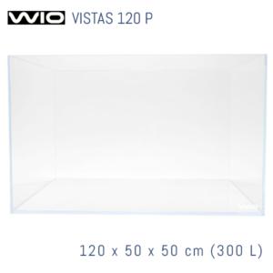 Acuario WIO Vistas óptico de 120 cm panorámico.