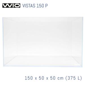 Acuario WIO Vistas óptico de 150 cm panorámico.