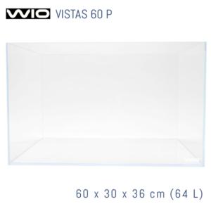 Acuario WIO Vistas óptico de 60 cm panorámico.