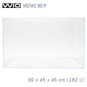 Acuario WIO Vistas óptico de 90 cm panorámico.