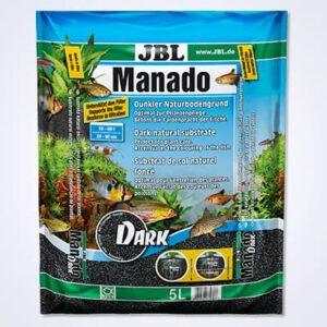 JBL MANADO DARK es un sustrato nutritivo para acuarios de agua dulce