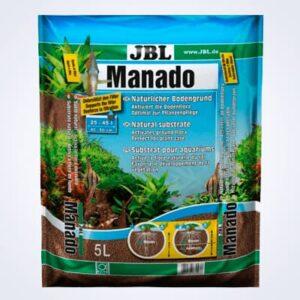 JBL MANADO 5 LITROS es un sustrato nutritivo para acuarios de agua dulce