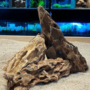 Roca para acuarios de agua dulce DRAGON STONE YELLOW, la puedes comprar en nascapers.