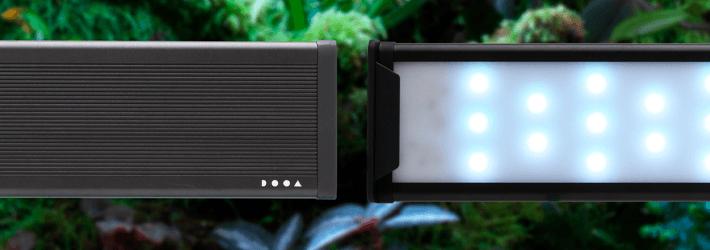 DOOA PALUDA LIGHT, pantalla de LED RGB para paludarios y terrarios.