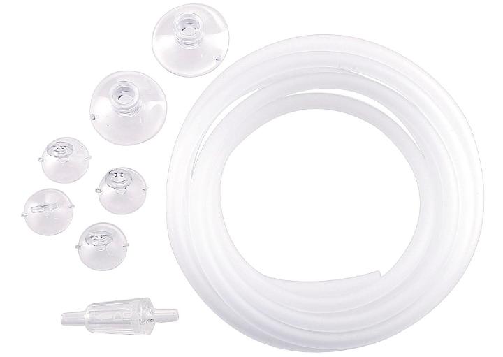 ADA CLEAR PARTS SET, tubo para el circuito de CO2, con ventosas de fijación.