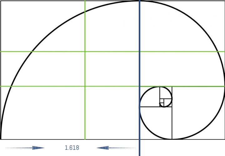 Proporción áurea como punto de partida para diseñar un aquascaping